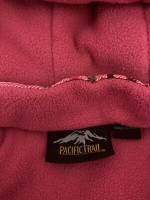 Girls Jacket Pacifictrail Pink Padded. Detatchable Hood Aged 4-5 4