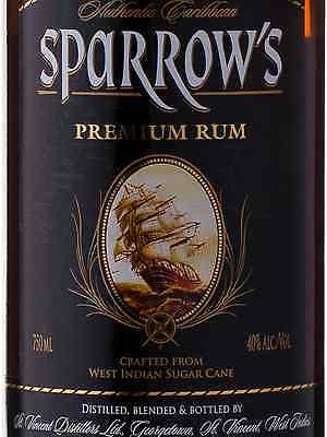 Sparrows Premium Rum 750mL bottle Dark Rum
