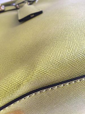 b7670df06eb764 ... 🎗NWT MICHAEL KORS Hamilton Leather Large Tote Green Apple Saffiano  leather🎗 10