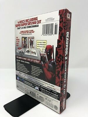 Deadpool 2 Target Exclusive (4K Ultra HD + Blu-ray + Digital) 2