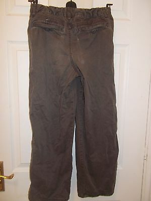 Marks and Spencer brown trousers age 10 2