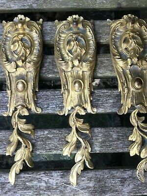 Louis XV Antique French Gilt Bronze Furniture Mounts - Selling Individually 8
