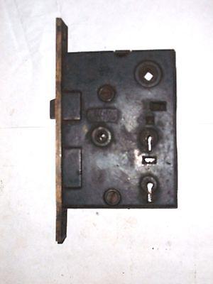 Antique H&D Mfg Co. Eastlake Era Entry Locks With Thumbturn Option.