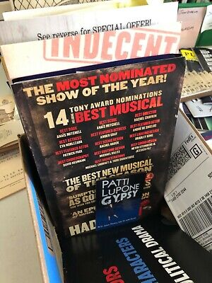 Broadway/Theatre Flyers Mailers Brochures / Free U.S. Shipping!  Bulk discounts! 8