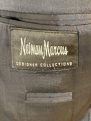 Hugo Boss Mens Size 40R Einstein Pure Wool Blazer Black Made In USA 5