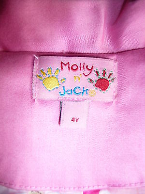 Molly n Jack pink coat - 4Y - only worn once or twice!! 3