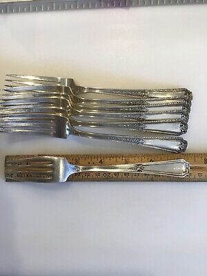 """1 Towle Louis XIV Sterling Silver 7-3/8"""" Dinner Luncheon Fork NO Mono 5"""