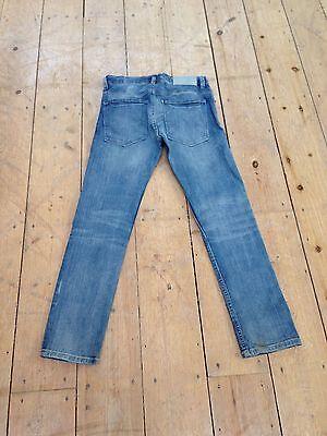 H&M Boys Skinny/Slim Stretch Jeans - Dark Blue Denim - Size 10-11 3