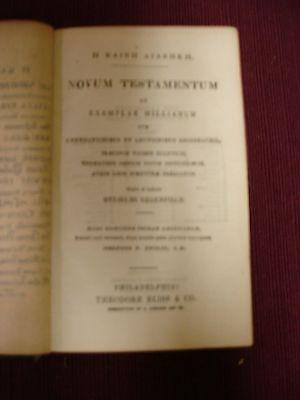 The Polymicrian Greek Lexicon to the New Testament - 1850 Circa 3 • CAD $315.00