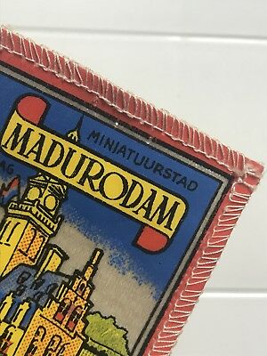 MADURODAM Miniatuurstad Holland The Netherlands Miniature Park Patch Badge