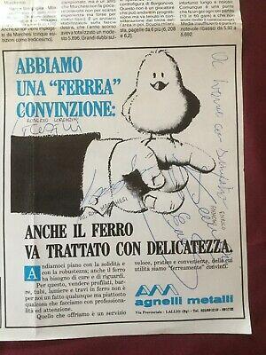 8 Autografi originali COMO CALCIO 88/89-Marchesi/Didonè/Paradisi+5-IN PERSON 2