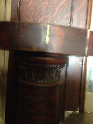Antique Oak Fireplace Mantle M 20 4