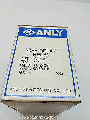ANLY ATF-N 240V Off Delay timer 2