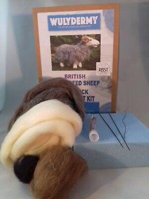 Herdwick British Rare Breeds sheep  needle felt kit  UNBOXED WULYDERMY 5