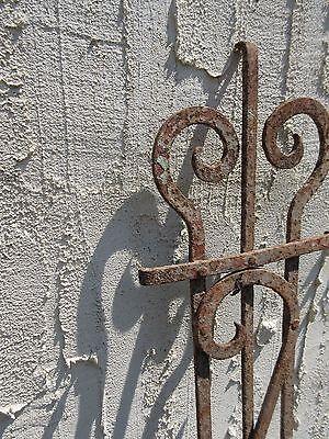 Antique Victorian Iron Gate Window Garden Fence Architectural Salvage Door #659 4