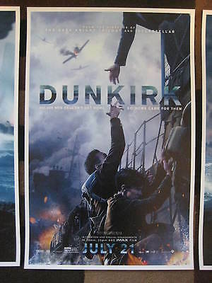 """Dunkirk ( 11"""" x 17"""" ) Movie Collector's Poster Prints ( Set of 3 ) 9"""