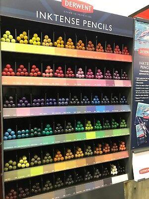 Derwent Inktense Professional Artists Colour Pencils Singles (72 colours) 2