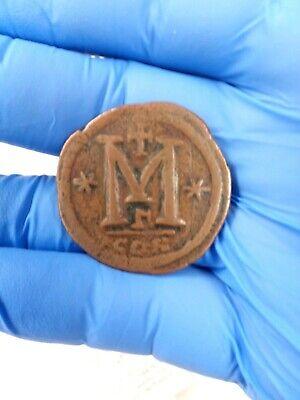 ANASTASIUS 491AD Ancient Medieval Byzantine Follis Constantinople Coin i79944 2