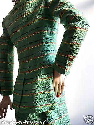 Coton Vert Robe Claire Veste Lin Ensemble Tailleur amp; 100 En 8Rq100w