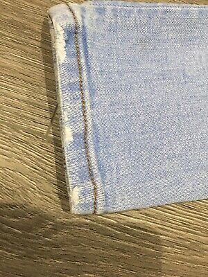 Boys River Island Light Blue Jeans, 26/30, Good Condition 6