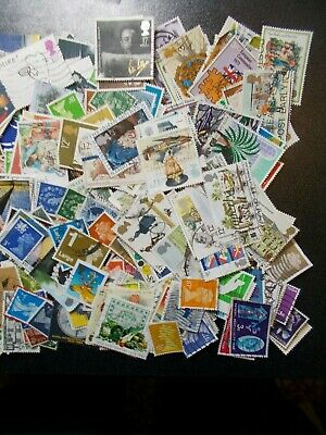 Quality Packet of 500 Different GB~Various Eras~Used Stamps~Collection~UK 4