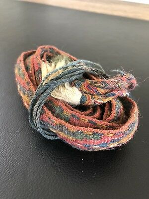 Pre Columbian Chavin/Moche Belt/Band/Belt Textile beautiful! 2