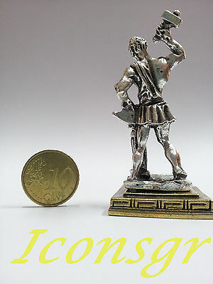 Ancient Greek Miniatures Olympian Gods Pantheon Sculpture Statue Zamac Set 3 pcs 10