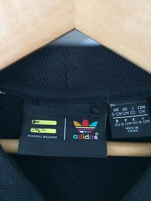 bfd38d372 VESTE ADIDAS COLLECTION Pharrell Williams - fille 9/12 mois