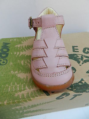 MOD8 Ekoko Sandales Chaussures Fille 20 Ballerines Rose Babies UK4 Child Neuf 6