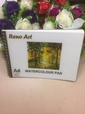 A4 Watercolour Pad 280gsm Atrist Painting Art Paper Sketchbook Sketch Drawing 2