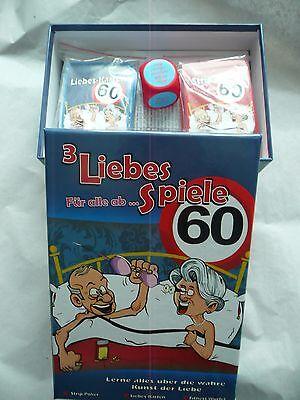 3 Liebesspiele für alle ab 40 Scherz Geschenk Geburtstag 126705213