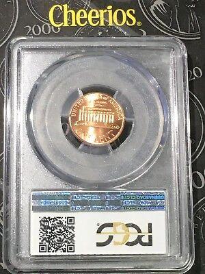 "2000 Lincoln Cent PCGS MS66RD ""Cheerios"" Cent - RicksCafeAmerican.com 7"
