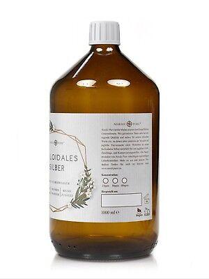 Kolloidales Silber (Silberwasser), 50 ppm in Apotheker-Glasflasche (250-1000 ml) 6