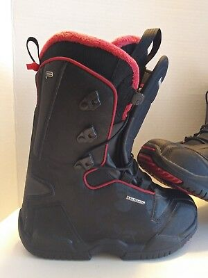 tambor tenis cobre  SALOMON FUSION F20 Snowboard Boots US Womens 7 EUR 39 Black Red Easy In Self  2 - $55.00 | PicClick