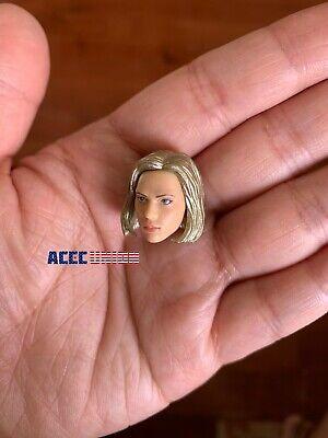 """1/12 Scarlett Johansson Head Sculpt Hands Set For 6"""" TBLeague T01 Female Doll 4"""
