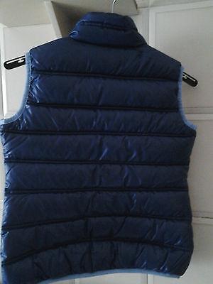 smanicato/gilet/giacca imbottito ragazza DIADORA 10 anni  col. blu idea regalo 2