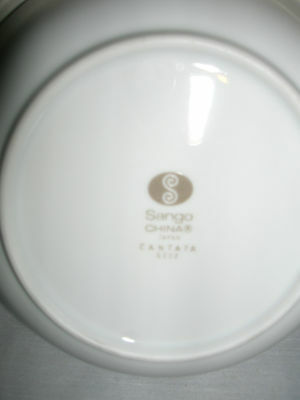 """SANGO china MORENA 6280 pttrn 6 1//2/"""" Bread /& Butter plate"""