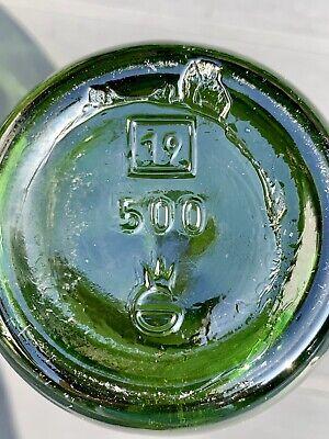 8x alte Apothekerflaschen vor 1945 Wehrmacht Lazarett Gerresheimer Glas AG 4