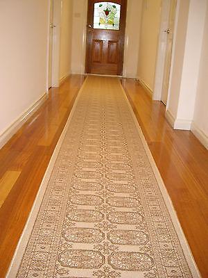 Hallway Runner Hall Runner Rug Traditional Persian Beige 750cm Long 909