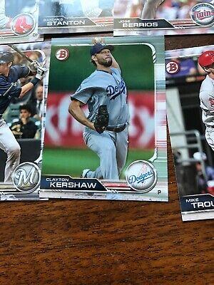 2019 Bowman Complete Base Set 1-100 Trout Aaron Judge Ohtani Acuna Baseball Card 8
