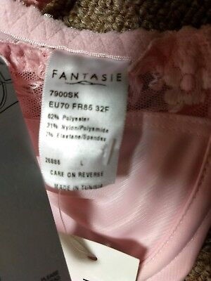 Fantasie 7900 Cally Full Cup Underwire 34DDD US Size// 34E UK Size Soft Pink NWT