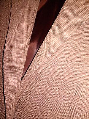 1 sur 12 Veste Homme JODHPUR Taille 48 Marron motifs prince de galles tissu  fluide Men c08b670ff82c