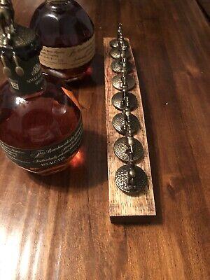 Blanton's Bourbon Cork Display Center Oak Barrel Half Stave, Blantons, Whiskey 3