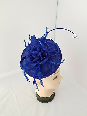 Elegant Fascinator with Headband and Clip Weddings Ladies Day Race Royal Ascot 3
