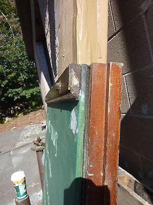 "early 20th century schoolhouse SLATE chalkboard salvaged DOOR & FRAME 65 x 30.5"" 5"