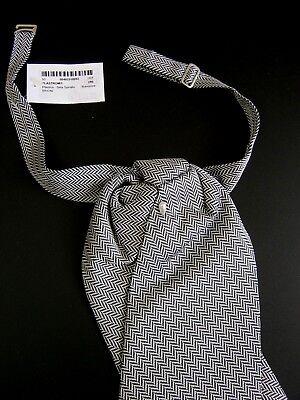 Luxury Brioni Nuovo New Plastron Cravatta Cerimonia Ceremony Seta Silk 2
