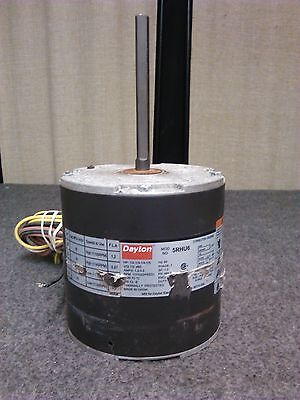 DAYTON 5RHU6 Condenser Fan Motor 1/2-1/3-1/4-1/5 HP 1075 RPM 2 Speed 1PH 60Hz 2