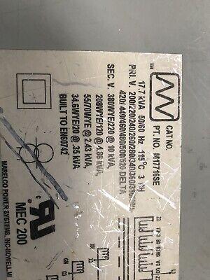 Marelco Power Systems Inc Howellmi M17716SE MEC 200!transformer D380-022 5