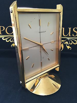 Jaeger LeCoultre  Solid Brass Mantel / Alarm Clock 10