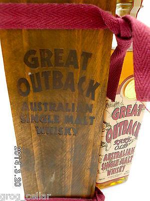 Great Outback Rare Old Australian Single Malt Whisky-Rare!!!!!!!!! 4